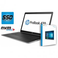 "Notesnik HP 43,9 cm (17,3"") ProBook 470G5 1920x1080 IPS i5-8250U 8GB SSD256GB PCIe NVMe GeForce 930MX 2GB WIN 10 Home"